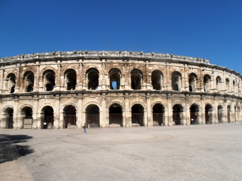 Day Six: Back in Nimes at the Roman arena