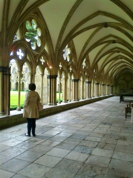 The cloisters are splendid