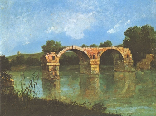 Pont ambroix, Courbet