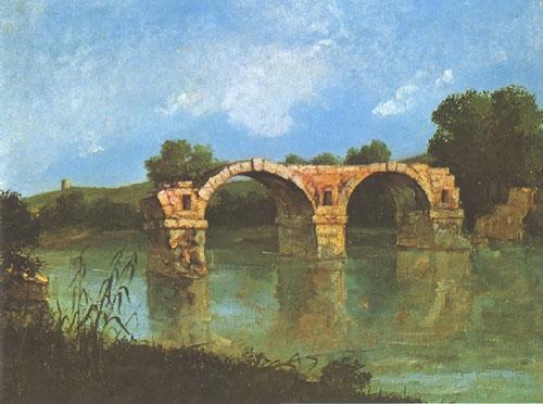 Pont ambroix, Courbet