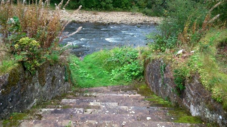 Steps at Irvine House