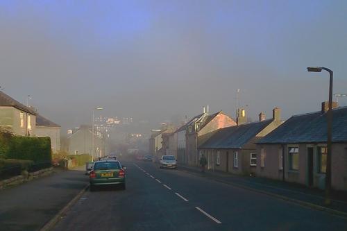 Caroline Street mist