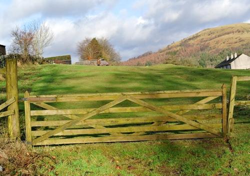 gate at Holmwood