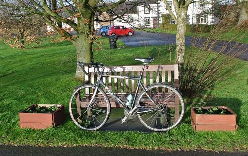 bike at Newtown