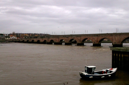 The Tweed at Berwick