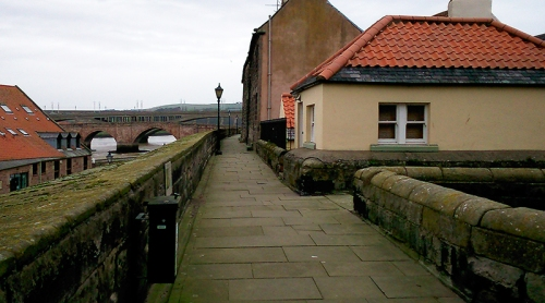 Berwick wall