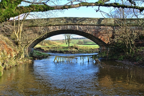 Bridge over Kirtle water