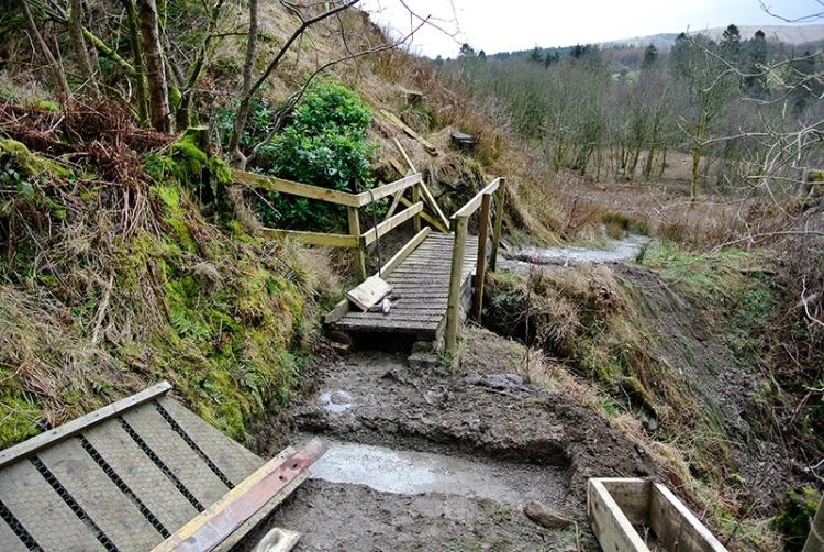 old bridge on Gaskells