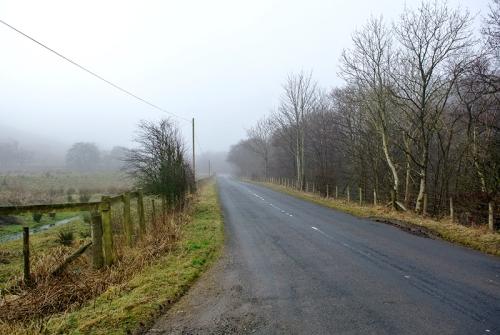 wauchope in mist