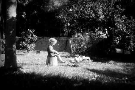 Maisie reading