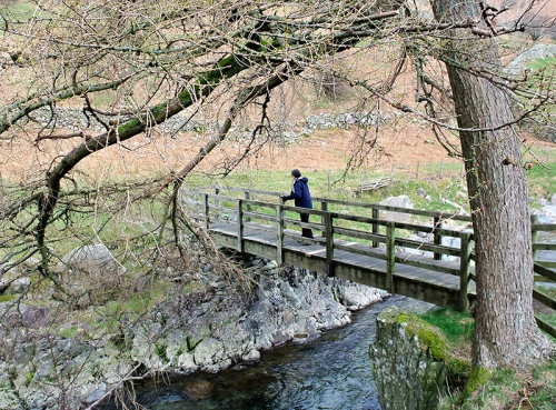 Bridge over Glenridding Beck