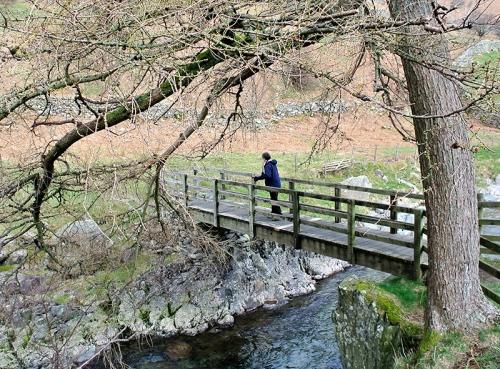 Bridge over Glenridding Beck