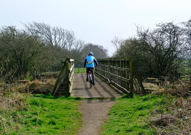Bridge over Lyne