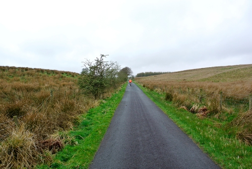 The road to Barnglieshead