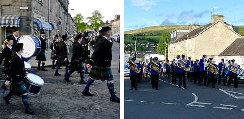 pipe and town bands