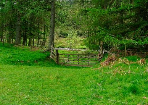 gate at manure mine