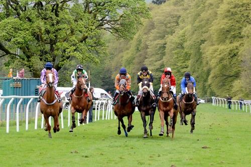 Six furlong race