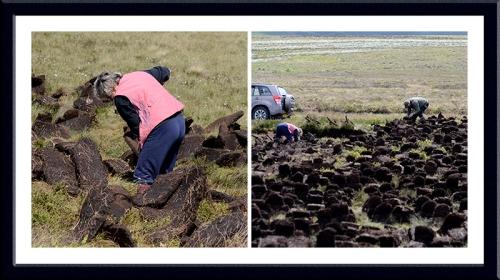 peat cutters