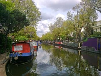 Regent's canal, near Little Venice