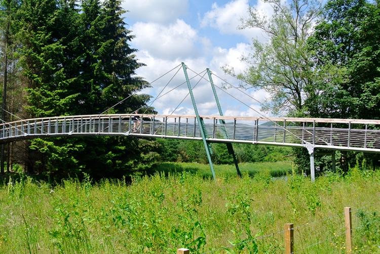 peebles railway cycle track