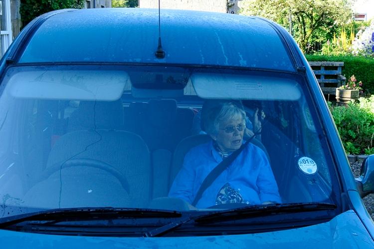 Granny going