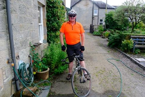scott on my  bike