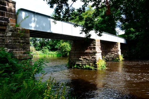 river annan bridge near dalton