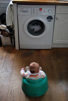 Matilda and washing machine
