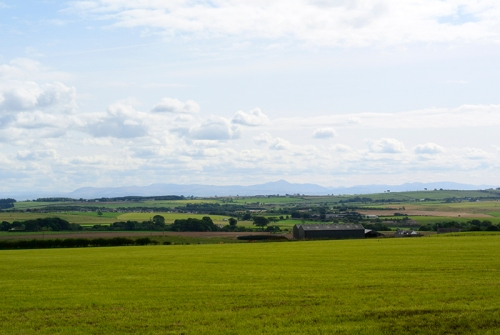 view of Solway plain
