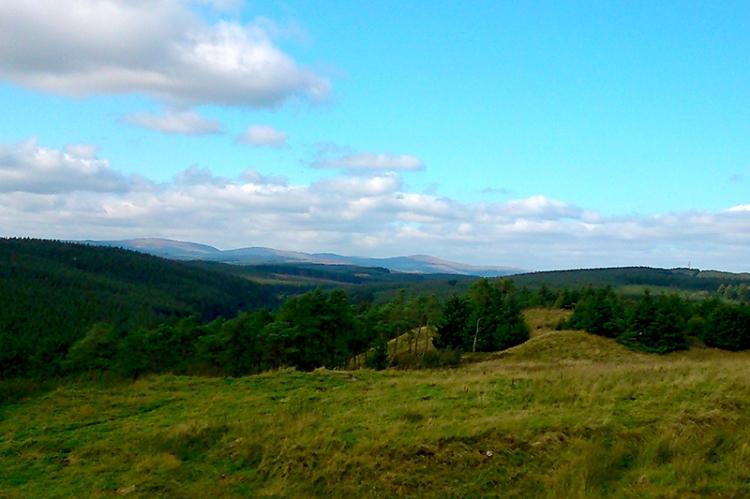 Castle O'er view