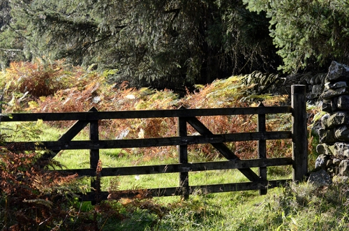 manure mine gate