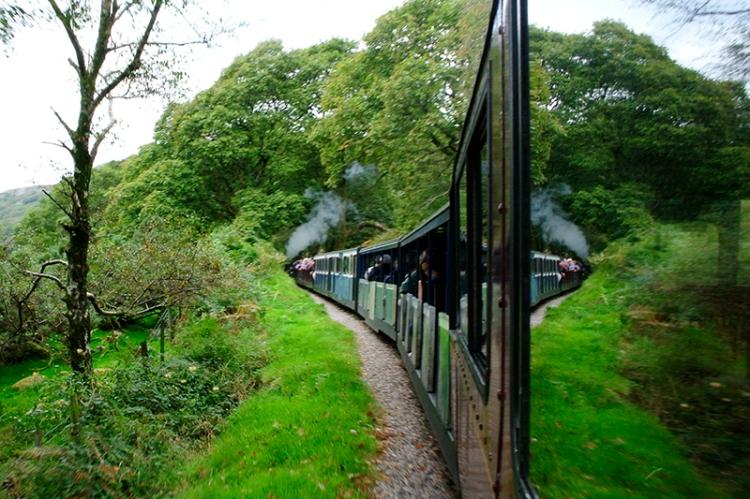 River Irt Ravenglass railway