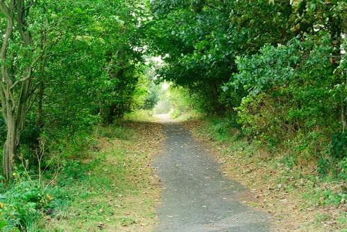 riverside path, Annan