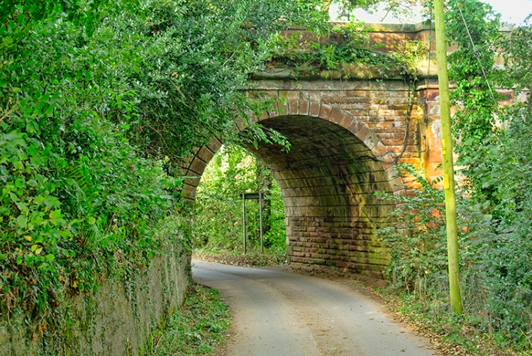 Annan railway bridge