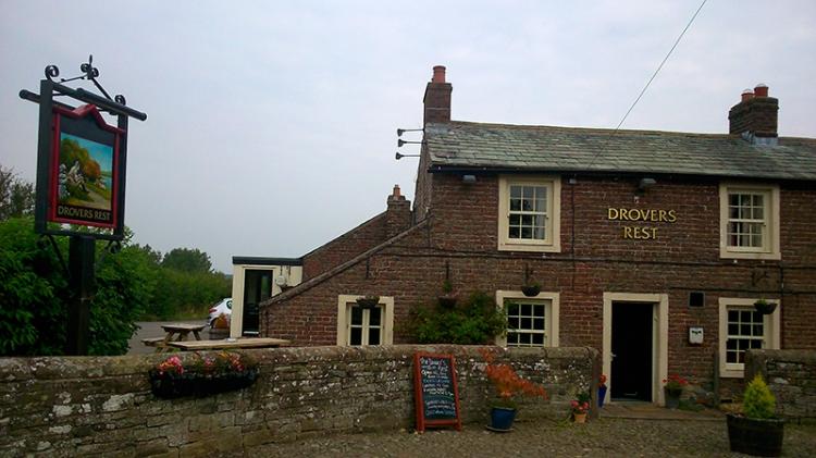 Brick built pub