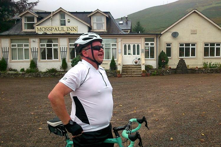 Scott at Mosspaul