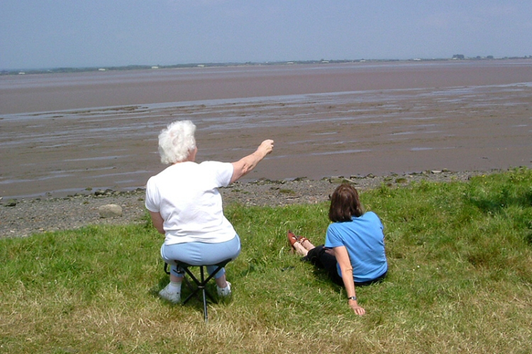 Jean at the Solway