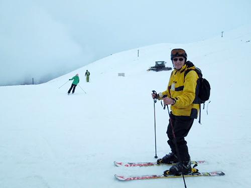Skiing at Mt Ruapehu