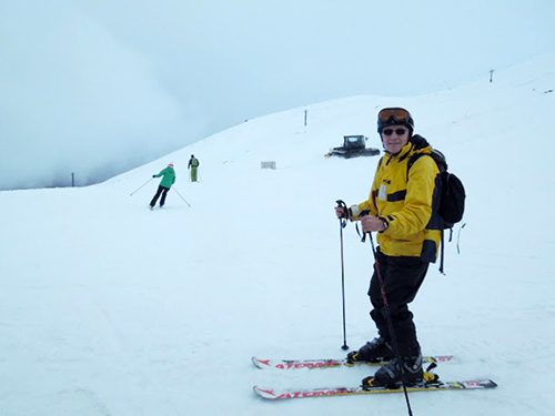 Skiing at Mt Ruapehu