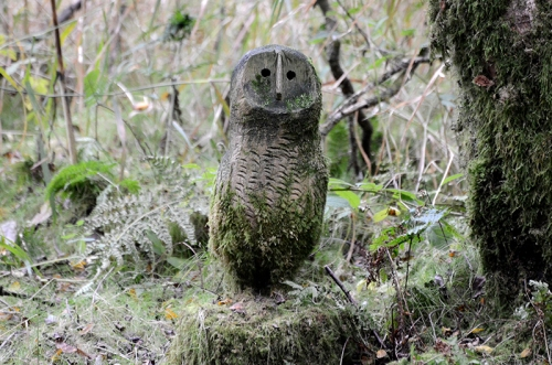 Eskrigg carved owl