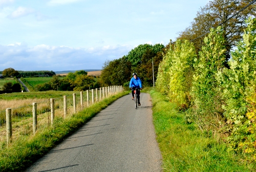 Sandy cycling