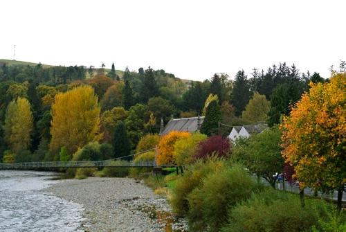 The esk in autumn