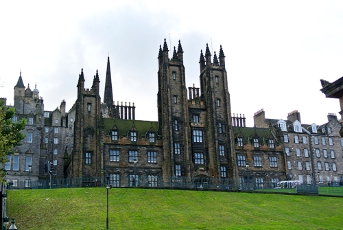 building of the General Assembly of the Church of Scotland.