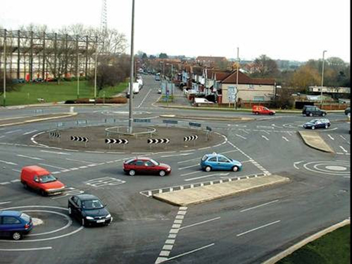 roundabout nightmare