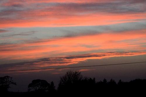Gretna sunset