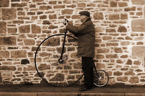 Ordinary penny farthing