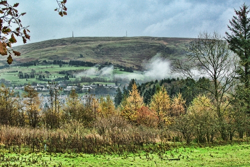 Mist over Langholm