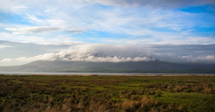 Criffel in cloud