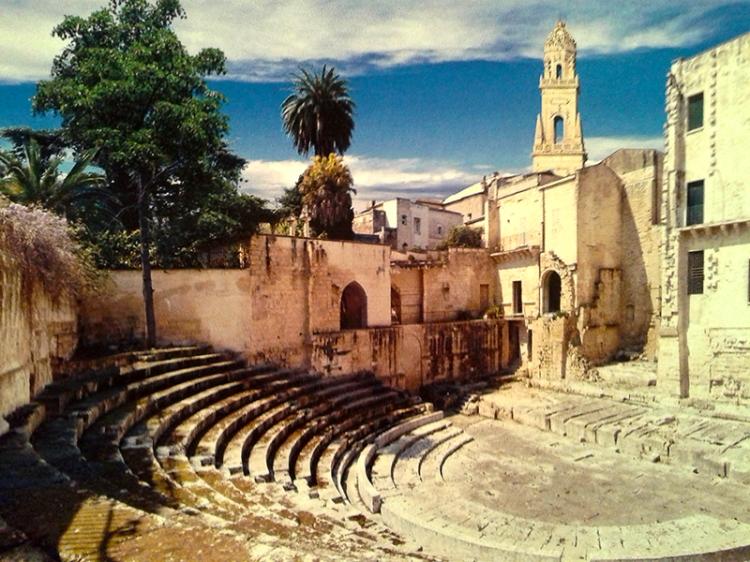 Lecce roman theatre