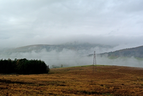 Langholm in the mist